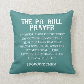 The Pit Bull Prayer Cushion
