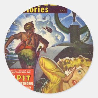 The Pit Classic Round Sticker