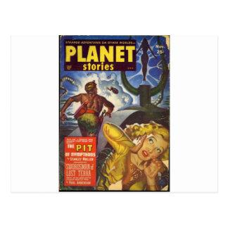 The Pit Postcard
