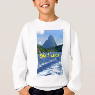 The Pitons in Saint Lucia Sweatshirt