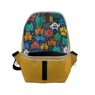The Pixelated Alien Space Monsters. Commuter Bag