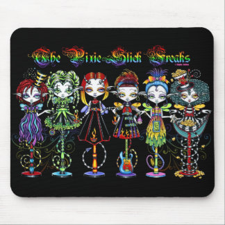 The Pixie Stick Freaks Whimsical Fairy Mouspad Mouse Pad