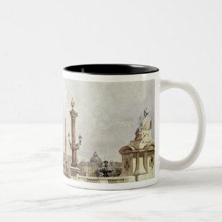 The Place de la Concorde, c.1837 Coffee Mugs