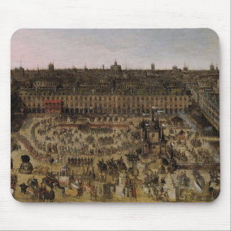 The Place Royale and the Carrousel in 1612 Mouse Pad