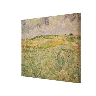 The Plain at Auvers, 1890 Canvas Prints