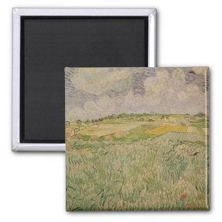 The Plain at Auvers, 1890 Fridge Magnet
