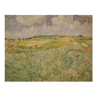 The Plain at Auvers, 1890 Postcard