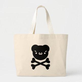 The plain gauze it comes and - is the ku ma do ku  canvas bag