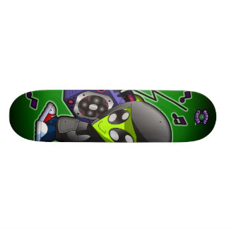 The Planet Cazmo Alien! Skateboard Deck
