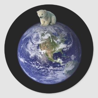 The Planet Classic Round Sticker