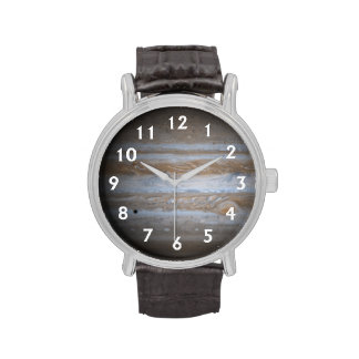 The Planet Jupiter Wrist Watches