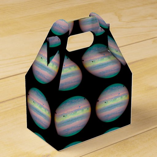 The Planet Jupiter Party Favor Boxes