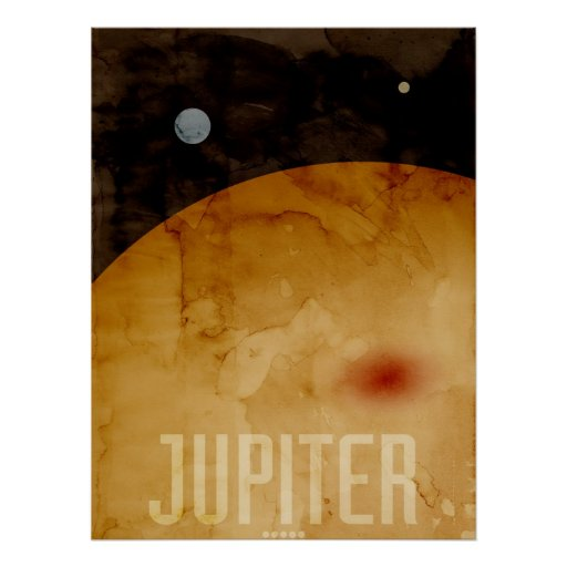The Planet Jupiter Posters