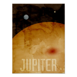 The Planet Jupiter Print