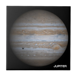 The Planet Jupiter Small Square Tile