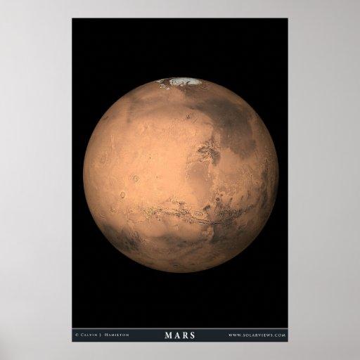 The Planet Mars Print