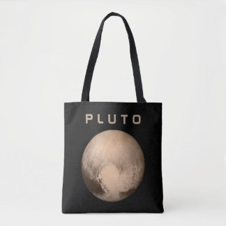 The Planet Pluto - See Both Sides Tote Bag