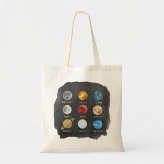 The Planets Tote Bag