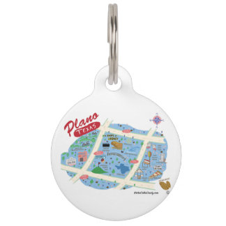 The Plano Texas Pet Tag