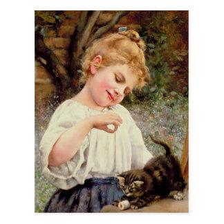 The Playful Kitten Post Card