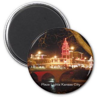 The Plaza Lights 6 Cm Round Magnet