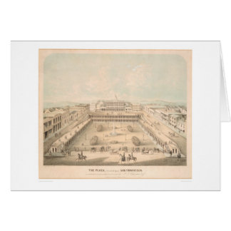 The Plaza, Portsmouth Square, S.F. (1335A) Greeting Card