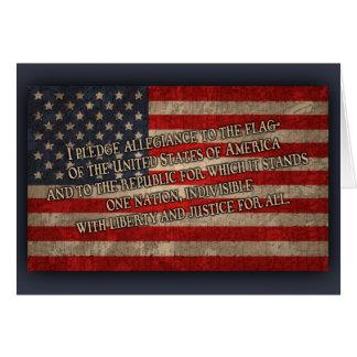 The Pledge Card