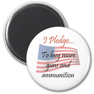 The Pledge - Guns Magnet