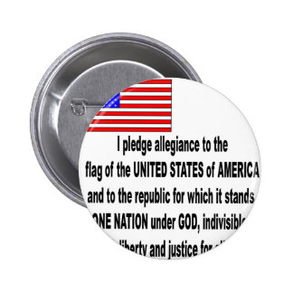 the pledge of allegiance pinback buttons