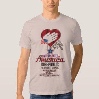 The Pledge of Allegiance T Shirts