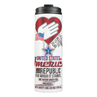 The Pledge of Allegiance Thermal Tumbler