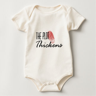 The Plot Thickens Baby Bodysuit