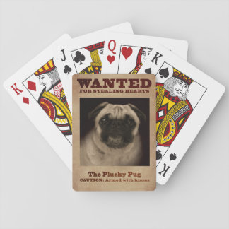 The Plucky Pug Playing Cards