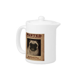 The Plucky Pug Tea Pot