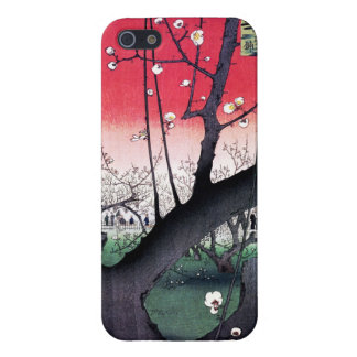 The Plum Garden in Kameido by Utagawa Hiroshige iPhone 5/5S Cover