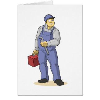 The Plumber Card