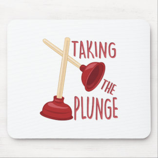 The Plunge Mouse Pad