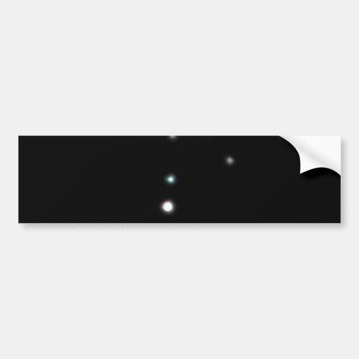 The Pluto System Bumper Sticker