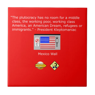 The Plutocracy in America Tile