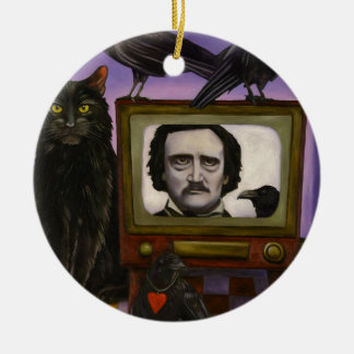 The Poe Show Ceramic Ornament