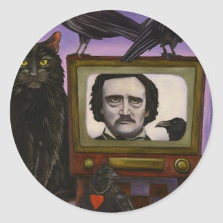 The Poe Show Classic Round Sticker