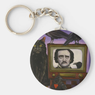 The Poe Show Key Ring