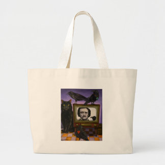 The Poe Show Large Tote Bag