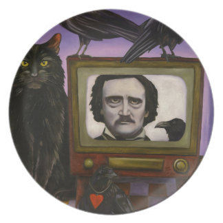 The Poe Show Plate