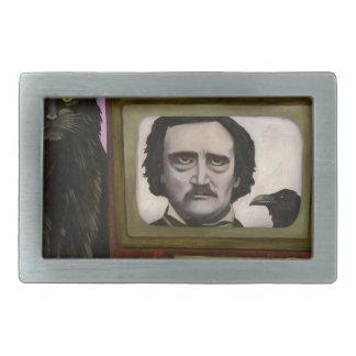 The Poe Show Rectangular Belt Buckles