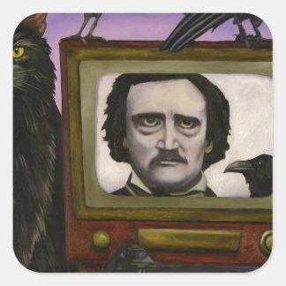 The Poe Show Square Sticker