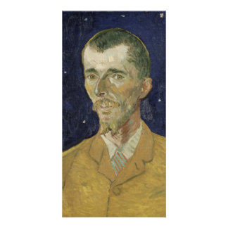The Poet Eugene Boch by Vincent Van Gogh Customised Photo Card