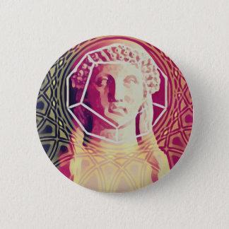 The Poet Sapphos 6 Cm Round Badge