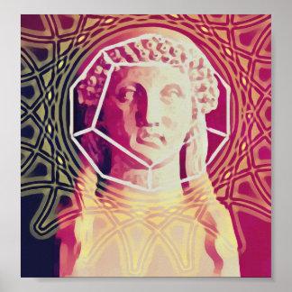 The Poet Sapphos Poster