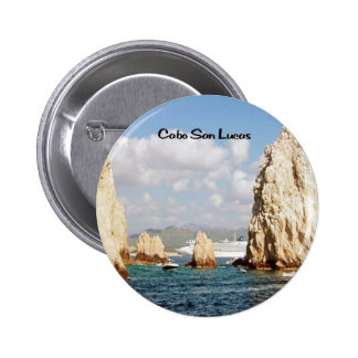 The point at Cabo San Lucas Pinback Buttons